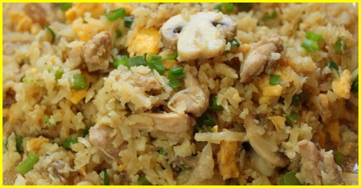 keto chicken fried rice